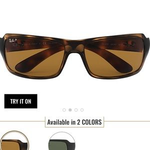 Ray Ban Tortoise Polarized Sunglasses